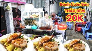 Quán bánh cuốn nóng bán thâu đêm suốt sáng tại Cách mạng Tháng tám Quận Tân Bình | Saigon Travel
