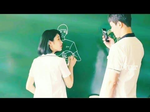 Korean mix With Hindi new Love songs  2018 !! Cute schoollove story