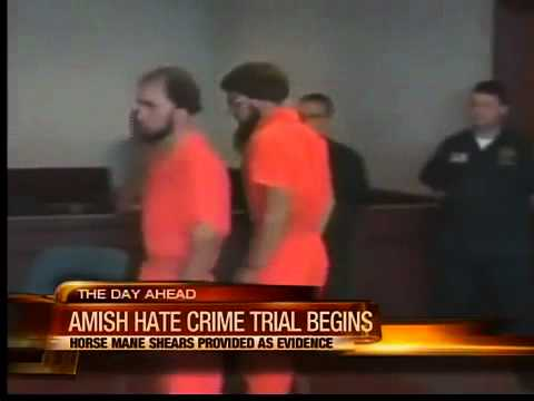 4:30am: Amish hate crime trial to begin