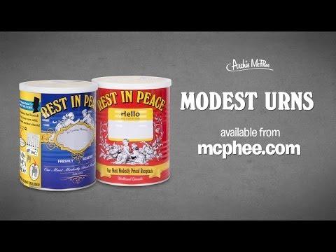 Modest Urns - Archie McPhee