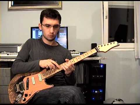 8-FINGER TAPPING SOLO - TJ Helmerich cover