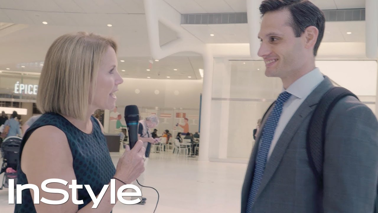 Watch Katie Couric Ask Hilariously Inappropriate Questions to Total Strangers | InStyle