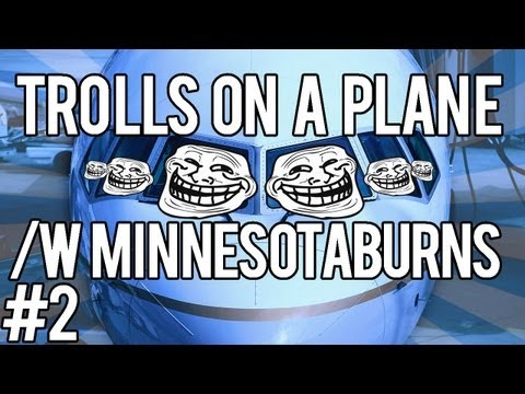 PART 2 - MW3 Trolling w/ Minnesota Burns - Trolls on a Plane!