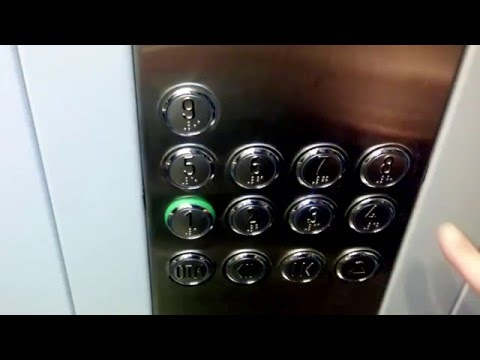 Музыкальный лифт в Новокуйбышевске.