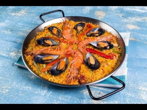 Paella Mixta- Receta Arroz Brillante