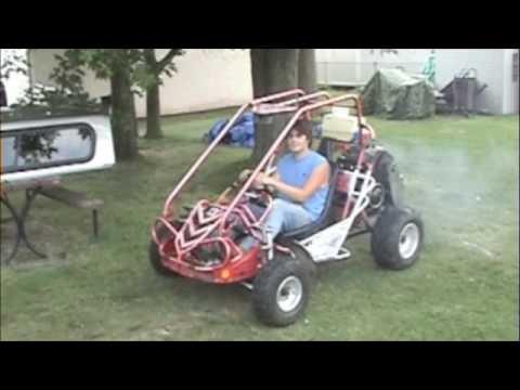 377cc Rotax Bombarider Ski Doo snowmobile powered Twister Hammer Head buggy custom