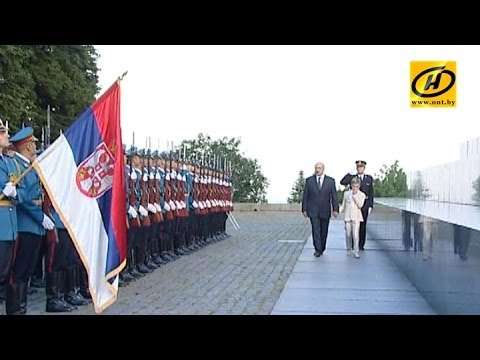 Лукашенко удивлён реакцией Запада на своё посещение Сербии