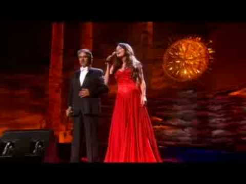 Andrea Bocelli & Sarah Brightman - Canto Della Terra STEREO
