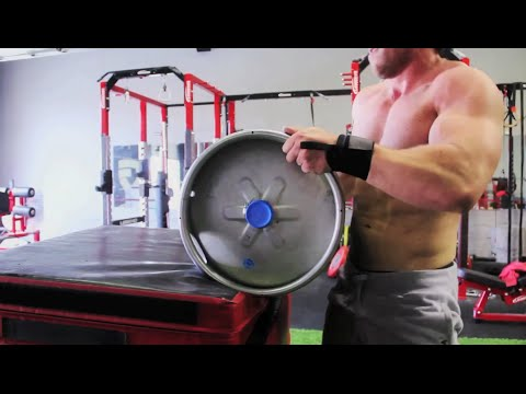 Intense Strongman Workout (Kegs, Sledgehammers, Fireman Carry) | Furious Pete