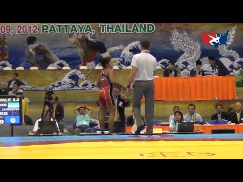 2012 Junior Worlds - FW 63kg Bronze Medal Match - Alli Ragan (USA) vs. Tetyana Lavrenchuk (UKR)