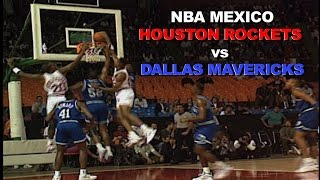 Houston Rockets vs Dallas Mavericks: First NBA Mexico Game