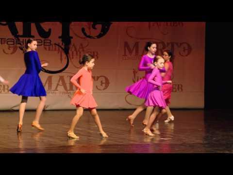 Спортивные бальные танцы, Хореограф Яна Богданова, школа танцев МАРТЭ