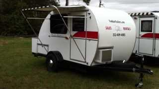 Adams Cabin teardrop by Trekker Trailers