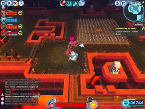 Spiral Knights - Tier 3 Run + Lord Vanaduke Boss
