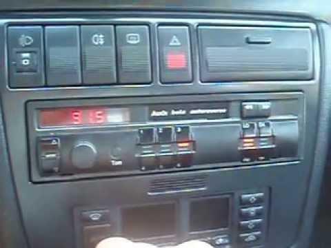 Radio Beta Autoreverse Audi A4 B5 Prezentacja - YouTube