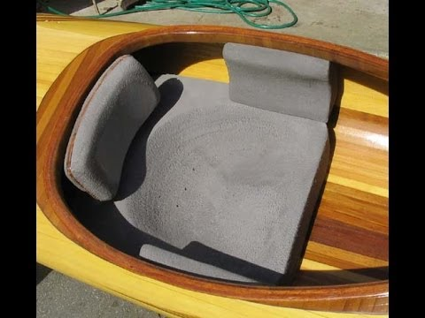Making a Custom Kayak Seat