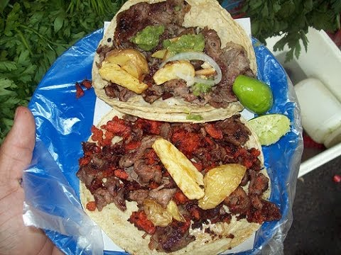 Tacos en México DF