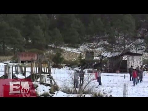 Nevada afecta a 20 viviendas en Ixtapaluca / Comunidad