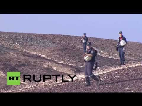 Egypt: Russian crash investigators search Sinai for victims' belongings