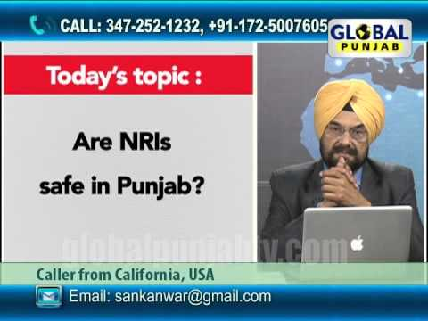 Hello Global Punjab  30th May, Are NRIs safe in Punjab?
