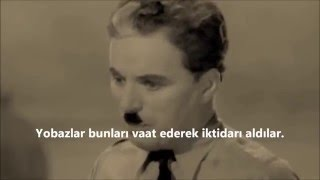 Charlie Chaplin   The Great Dictator 1940   Türkçe Altyazı