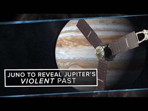 Juno to Reveal Jupiter's Violent Past   Space Time   PBS Digital Studios