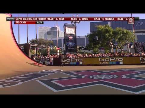 X Games Los Angeles 2012: Steve McCann Crash