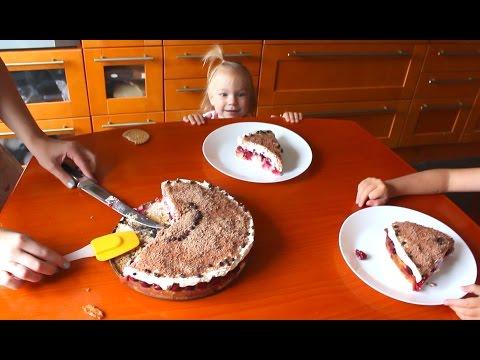 ✿Вишневый Пирог ✿Ну Очень  вкусно и легко