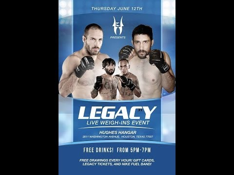 Legacy 31 Prelims - David Acosta vs. Angel Zamora