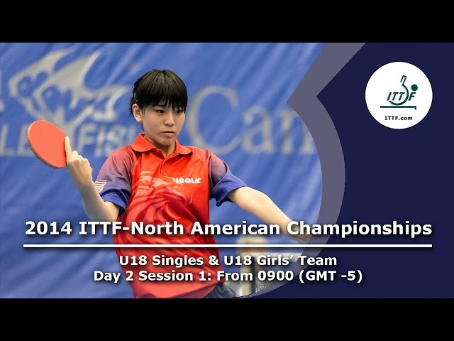2014 ITTF-North American Championships (U18 Singles & U18 Girls' Team)