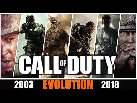 Эволюция игр Call of Duty все части 2003-2018