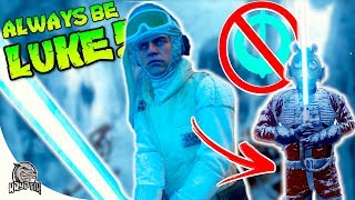 HOW TO BE LUKE WITHOUT A PICKUP! - Star Wars Battlefront
