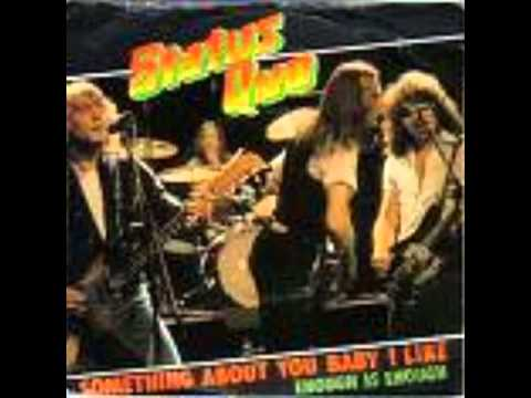 Status Quo - status quo enough is enough (never too late)