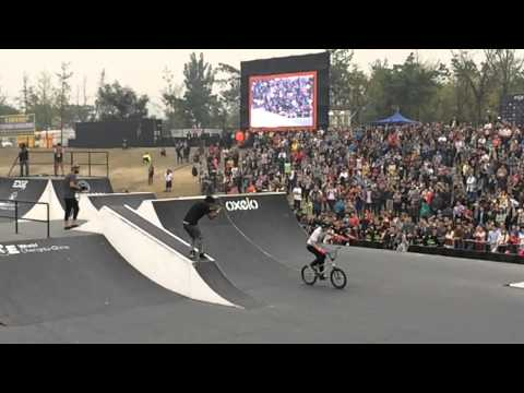 FISE China 2014 BMX Final Best Tricks in Slow Motion
