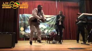 Comedian Kibebew Geda vs Teddy Dagne Comedian of Admas Radio Atlanta 21 May 15