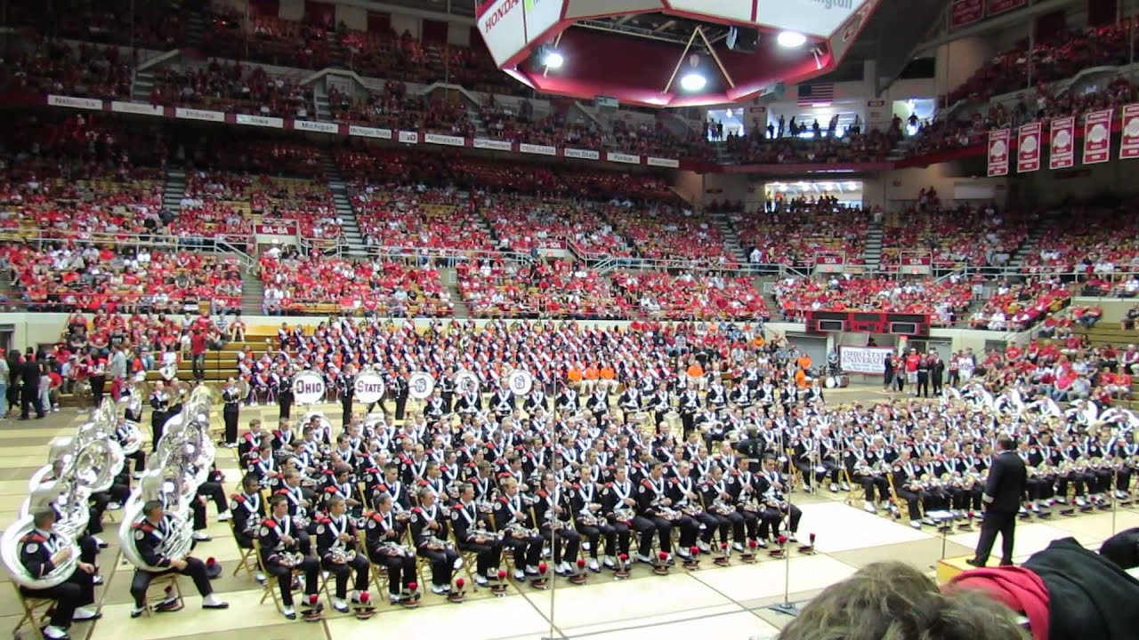 Ohio State Marching Band Slow Fight Song and Across The ...