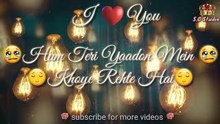 download lagu Tere Bina ❣  Whatsapp Status  ❣ Romantic gratis