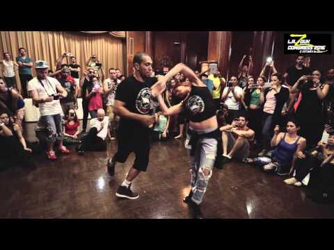Kadu + Larissa - LA Zouk Congress 2016   Demo   Saturday