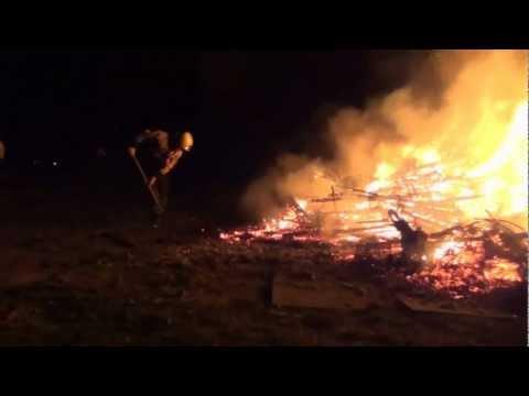 B.V.D. Report – kerstboomverbranding Andijk 2013