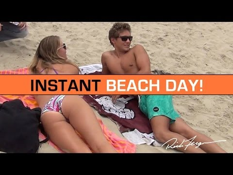 Instant Awesome Beach Day Surprise!