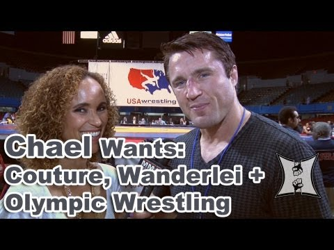 UFC's Chael Sonnen on Facing Randy Couture, Wanderlei Silva + Saving O...