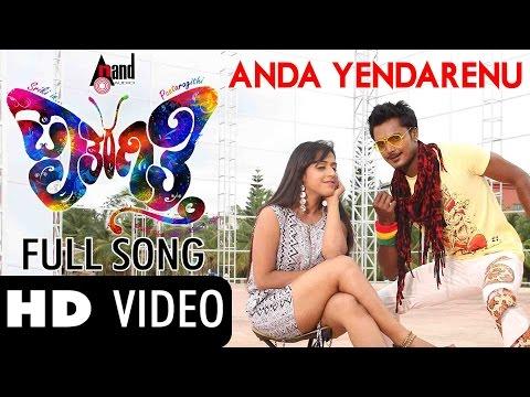 Anda Yendarenu| paataragithi |full Hd Video Song| Feat.shriki,prajju Poovaiah| New Kannada video