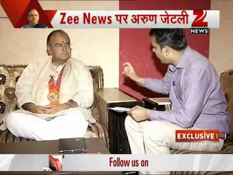 Exclusive interview with Arun Jaitley