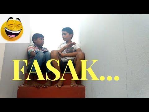 FASAK SPOOF JOKE BY KIDS || Telugu Funny Videos || telugu funny whatsapp videos