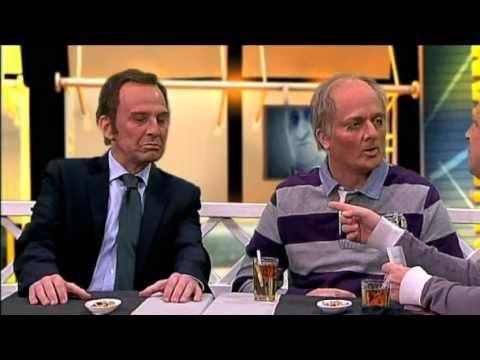 Cruyff i Rexach entrevisten Sandro Rosell a Clarisimament (Crackovia 3x22)
