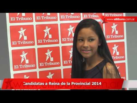 Candidatas a Reina Provincial 2014