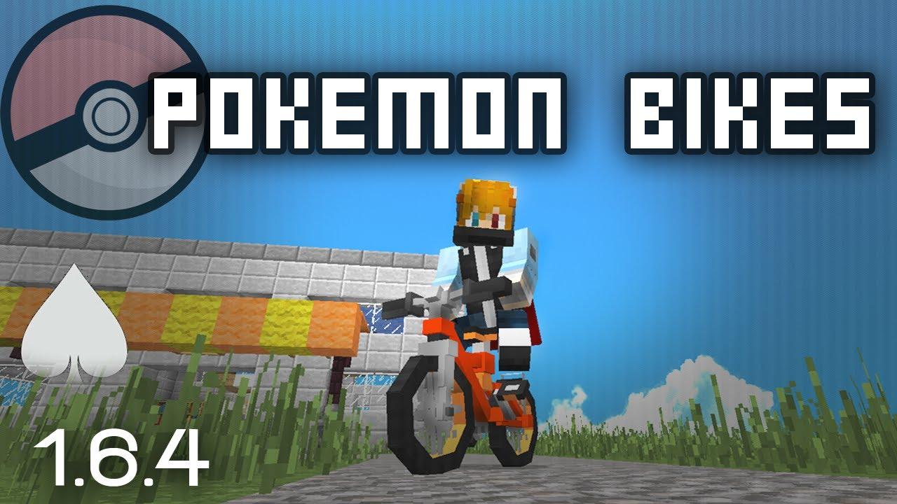 Bikes Mod 1.6.4 PIXELMON BIKES