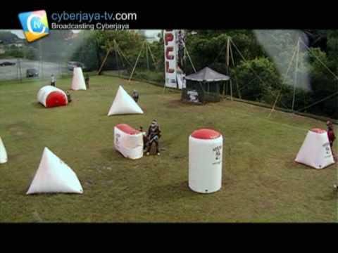 Cyberjaya Paintball Championship League 2010 - 2nd Leg - Final Match