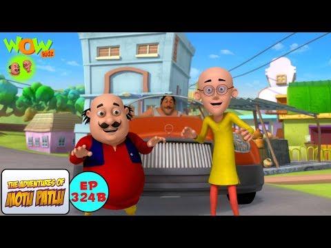 Boxer Ki car - Motu Patlu in Hindi - 3D Animation Cartoon for Kids -As seen on Nickelodeon thumbnail
