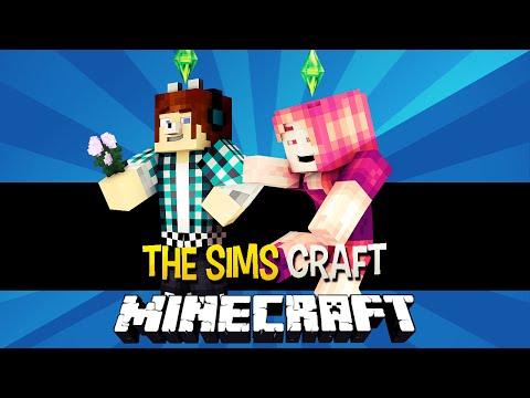 The Sims Craft Ep.1? - A Menina Baladeira e Nossa Casa - Minecraft
